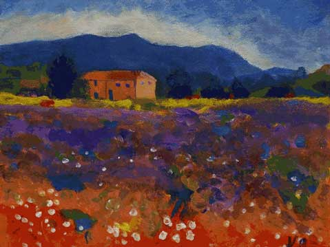 Provence, after Will Kemp